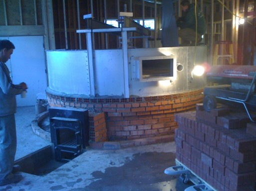 Oven construction